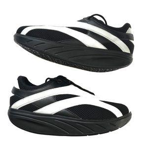 92553ca034a5 MBT Rocker Silver Moon Walking Athletic Shoes 9